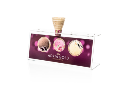 Stojanček na kopčekovú zmrzlinu