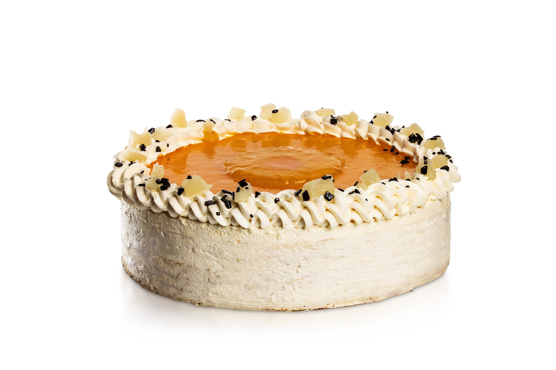 Ananásovo-maslový tort